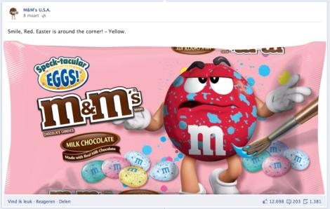 M&Ms facebook