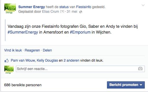 Facebook bereik