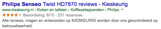 Review Kieskeurig