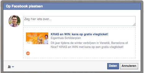 like en share kras & win